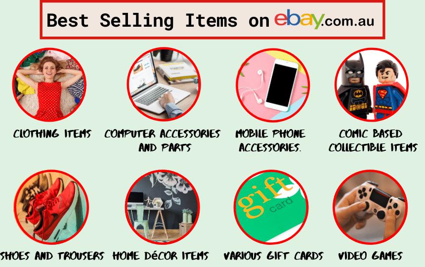 best selling items on eBay