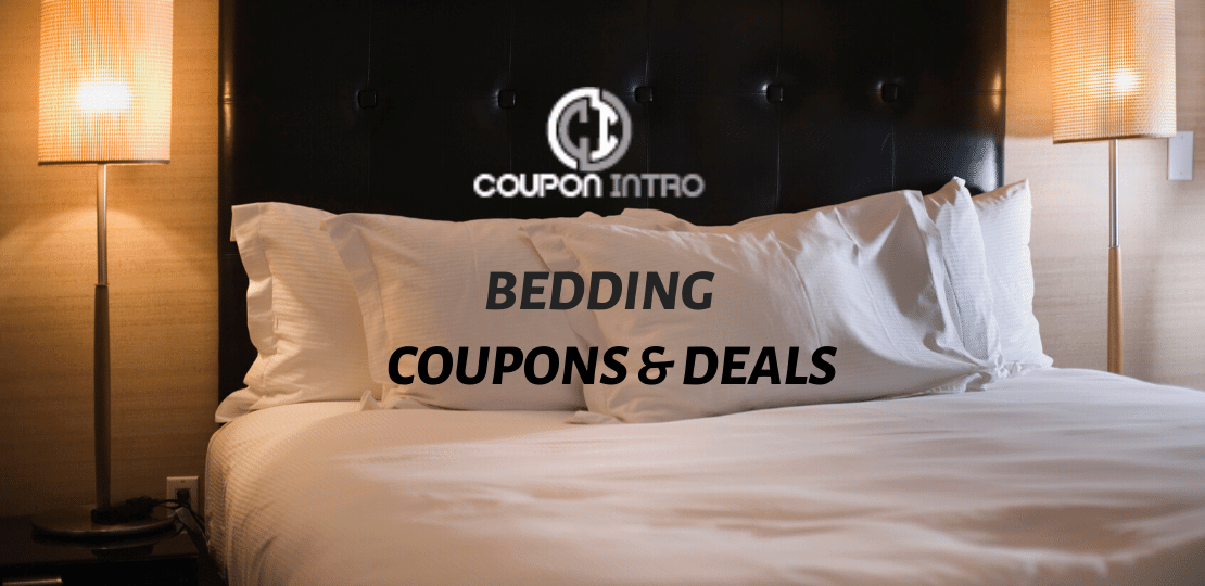 bedding coupon and deals
