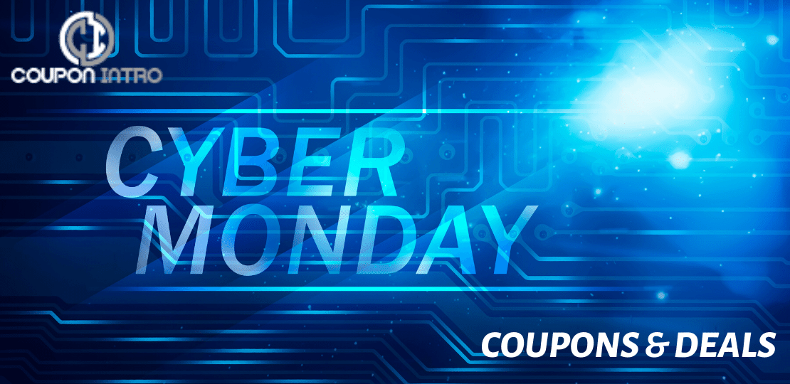 Cyber monday coupon and deals