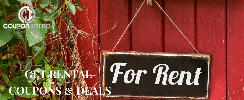 rental coupons and deals